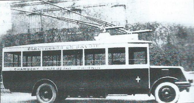 Vůz O.T.S.C. vChambéry nasnímku zroku 1930. (foto: VETRA / archiv G. Mullera)
