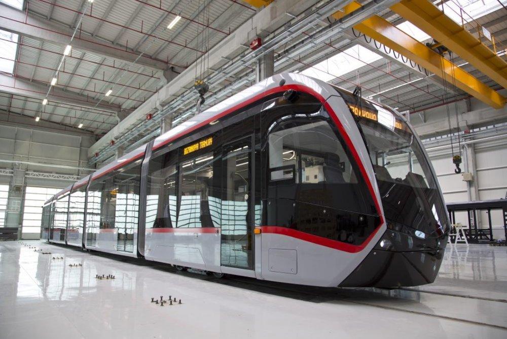 Jedna z tramvají od Bozankaye pro turecké město Kayseri. (foto: Bozankaya)
