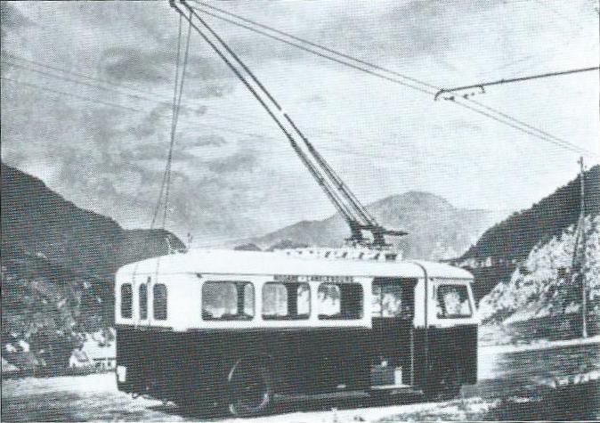Trolejbus typu CSP 40 jezdil vSavojsku.(foto: RDTS / archiv G. Mullera)