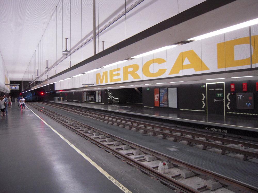 Podzemní zastávka Mercado