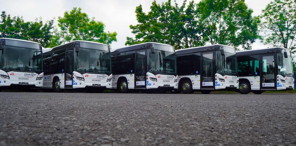 Nové autobusy pro oblast Hlučínska jsou vyhotoveny v délkovém provedení 13,7 m. (foto: Scania)