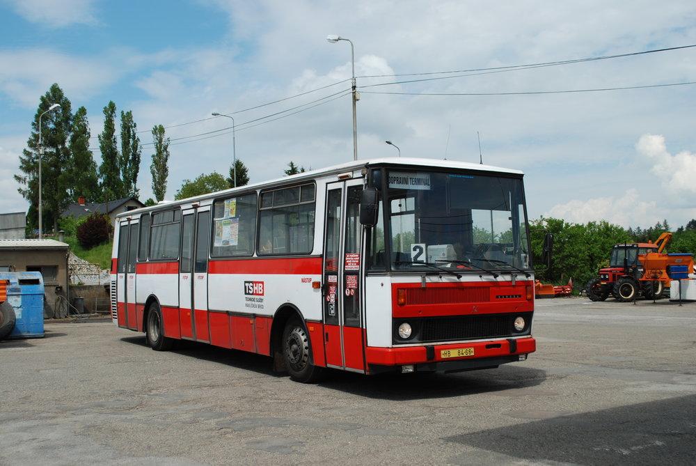 Autobus Karosa B 732 v Havlíčkově Brodě. (foto: Libor Hinčica)