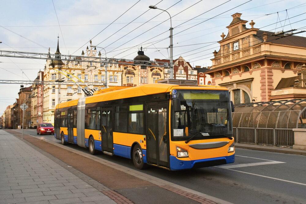 První trolejbus Škoda 35 Tr pro Zlín. (foto: Ing. Zdeněk Kresa)