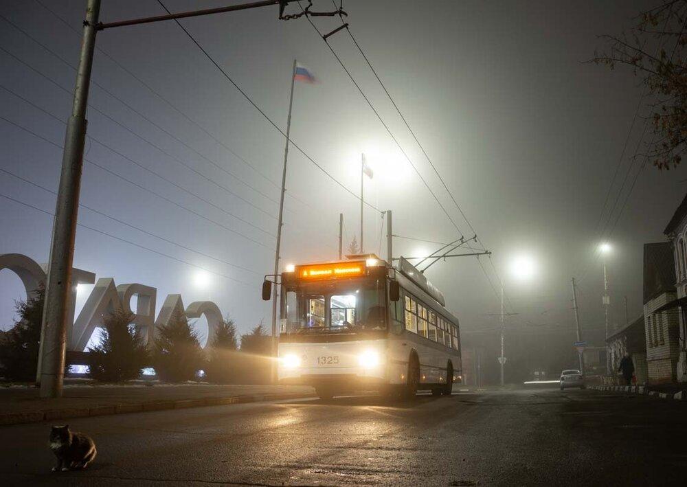 První dva trolejbusy vyjely do provozu dne 10. prosince 2019. (foto: Трамваи и троллейбусы Саратова)