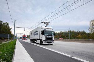 Nákladní trolejbusy v Německu pro 3.200 km dálnic