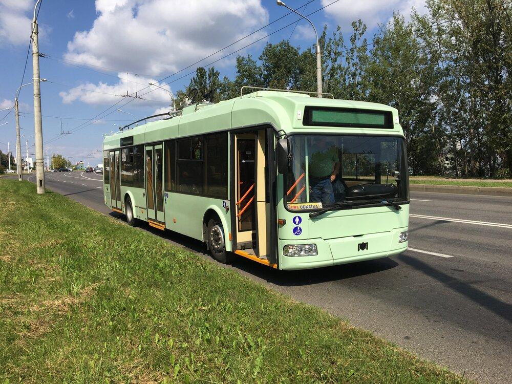 Trolejbus BKM 32100. (foto: Belkommunmaš)