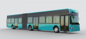 Frankfurt koupí španělské kloubové elektrobusy