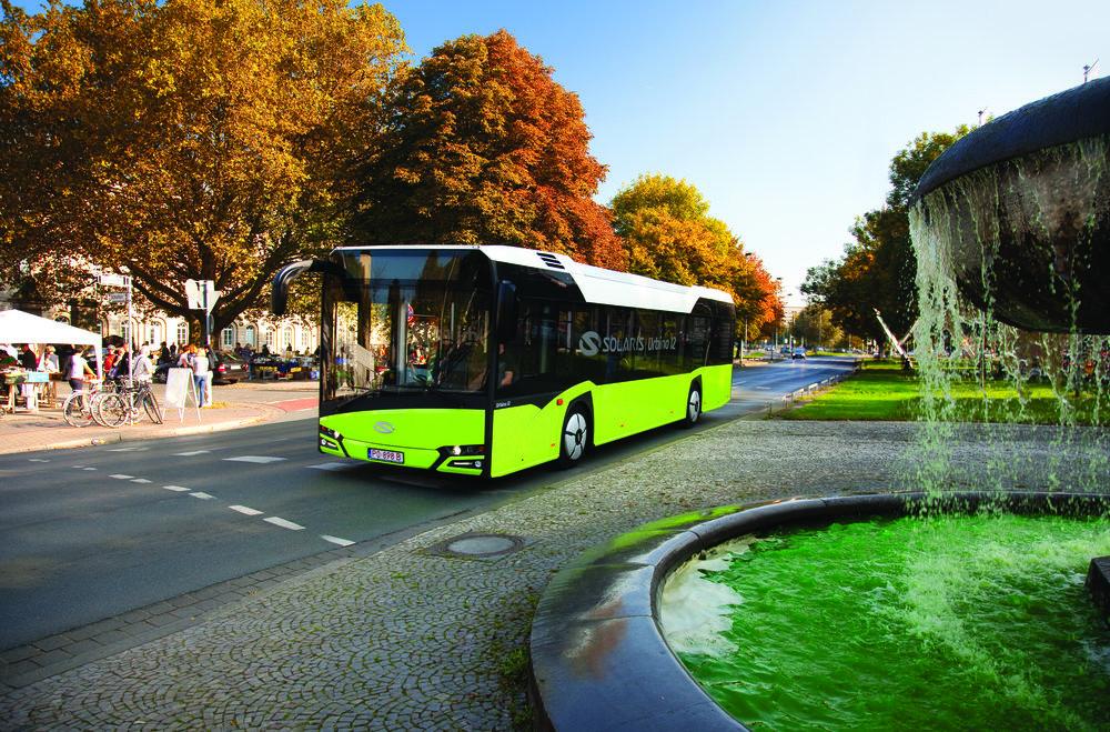 Solaris Urbino 12 na propagačním snímku výrobce. (foto: Solaris Bus & Coach)