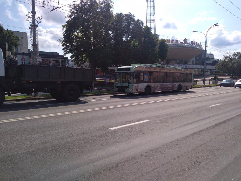 Tento trolejbus nedojezdil.
