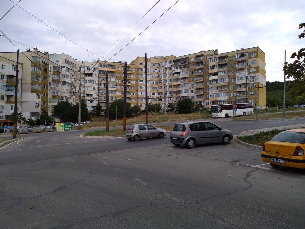Následující snímky ukazují konečnou Vladislavovo sokolním stejnojmenným sídlištěm.