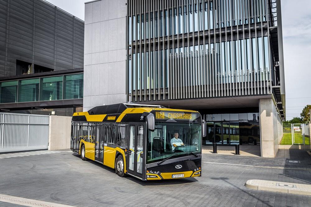 Solaris Urbino 12 CNG na propagační fotografii výrobce. Tallinn si objednal celkem 60 sólo vozů. (foto: Solaris Bus & Coach)
