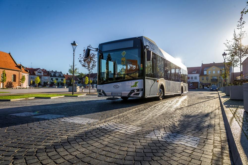 Nový Solaris Urbino 12 LE lite hybrid s novým designem. (foto: Solaris Bus & Coach)
