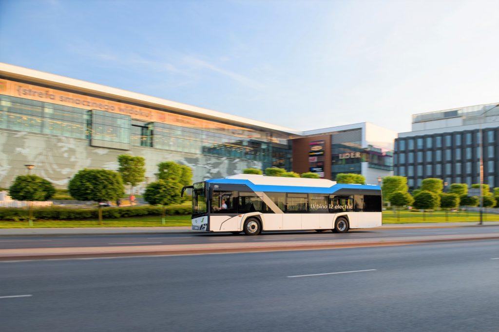 Školní elektrobus bude postaven na bázi klasického elektrobusu Urbino 12 electric. (foto: Solaris Bus & Coach)
