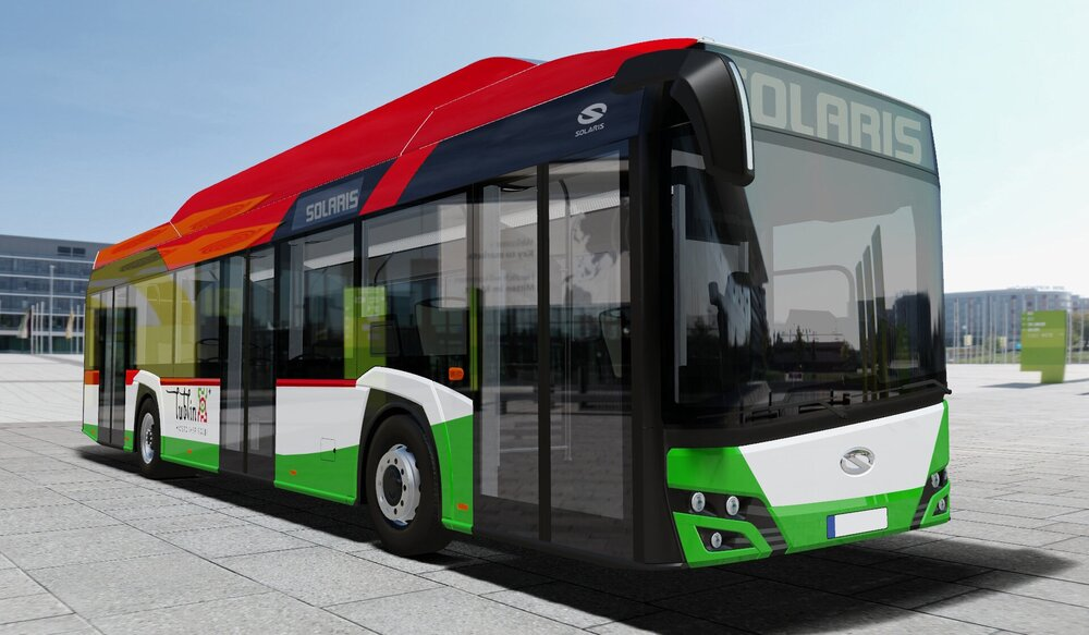 Solaris Urbino 12 electric pro Lublin. (foto: Solaris Bus & Coach)