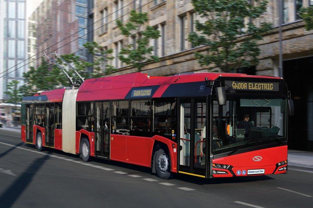 Trolejbus Solaris Trollino 18 s výzbrojí Škodovky odpovídá modelu prodávanému v ČR pod názvem Škoda 27 Tr. (foto: Škoda Transportation)