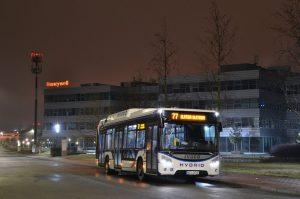 Brno testuje hybridní autobus Iveco Urbanway