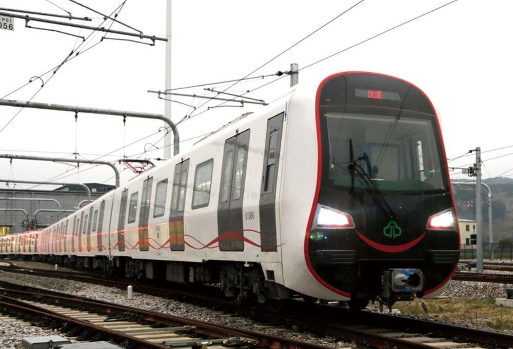 Souprava metra vyráběná čínským výrobcem. Podoba vlaků pro charkovské metro nebyla zveřejněna. (foto: CRRC Tangshan Co., Ltd.)