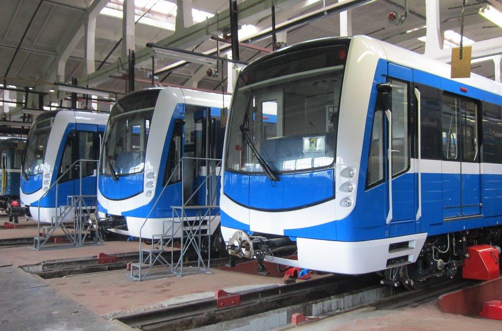 Metro Něva od Škodovky v ruském Petrohradě. (zdroj: Wikipedia.org)