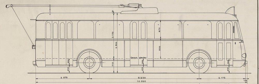 I pro některémarseillské vozy VBRh se druhým působištěm stalo město Le Havre, kde je jejich nový vlastník nechal takto zvěčnit.(zdroj: 2x Archives Municipales de la ville du Havre)