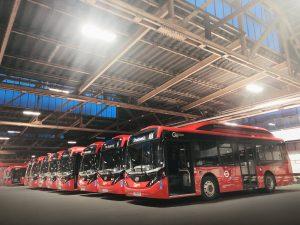 V Londýně je již 100 elektrobusů BYD/ADL Enviro200EV ve službách Go Ahead