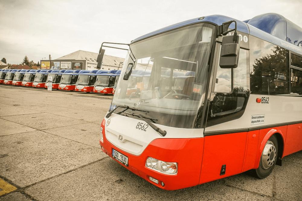 Dvacítku nových plynových vozů SOR CNG 12 spolufinancovala EU. (foto: OAD Kolín)