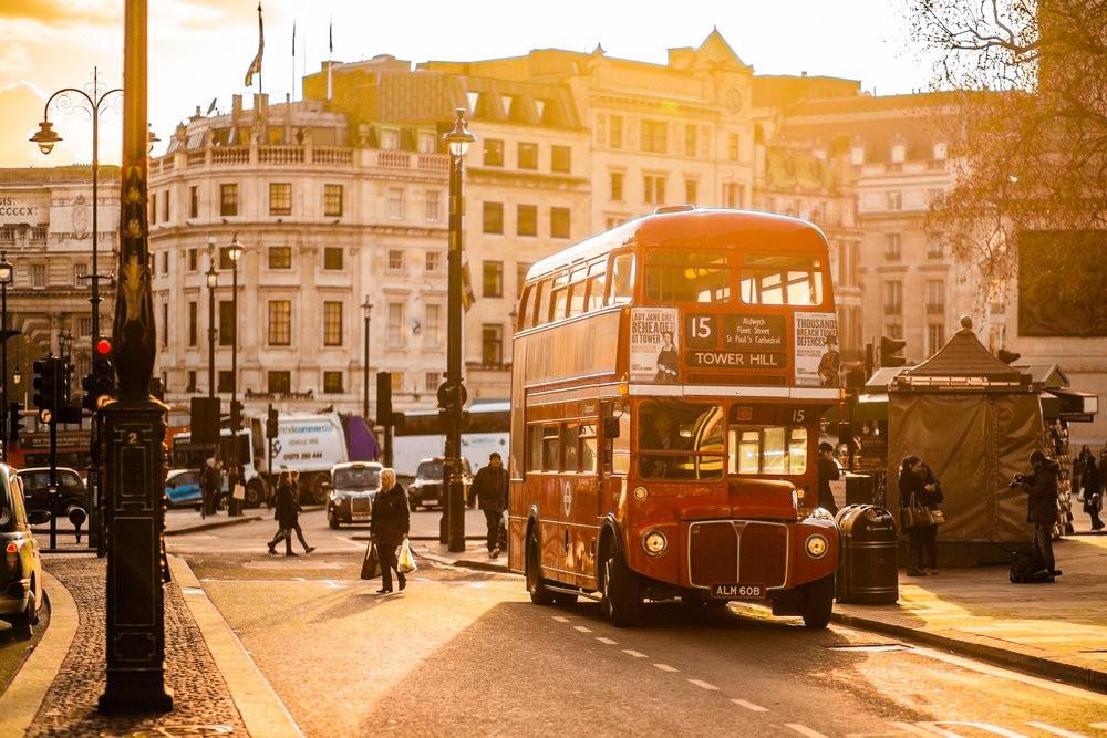 Doubledeckery jsou nesmazatelným symbolem Londýna. (foto:negativespace.co)