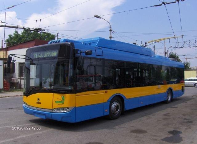 Archivní snímek sofijského trolejbusu. (foto: Stoličen elektrotransport)