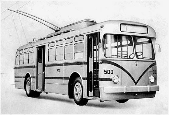 Na ilustraci z brožury Fiatu vidíme trolejbus, který byl pro dopravce Serviço Municipal de Transportes Coletivos (SMTC) vyráběn. (zdroj: archiv Emilia Sérgia Pechiniho)