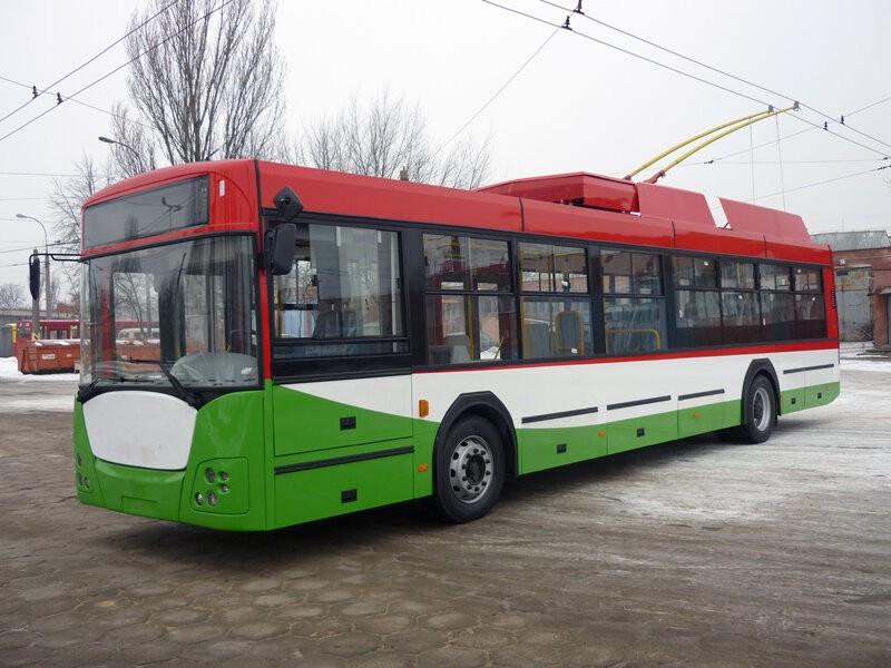 Jeden ze tří trolejbusů vyrobený v roce 2011 v místních dílnách. (foto: MPK Lublin)