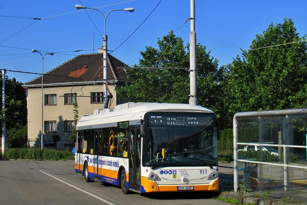 Elektrobus Škoda E'City (Škoda 34BB) zůstane zřejmě jediným svého typu. (foto: Matyáš Škrabana)