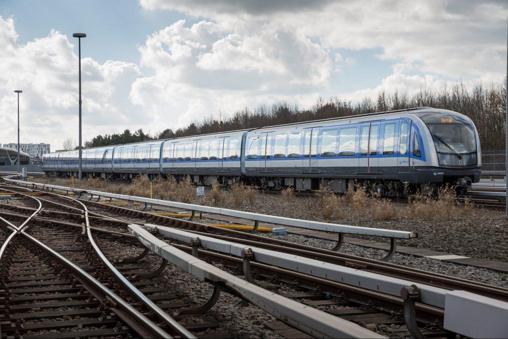 Jednotka C2 metra pro Mnichov z produkce Siemensu. (foto: Siemens)