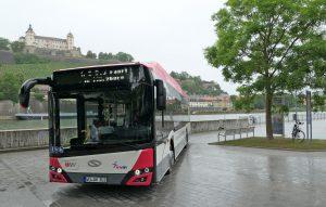 Solaris dodal první elektrobusy do Würzburgu