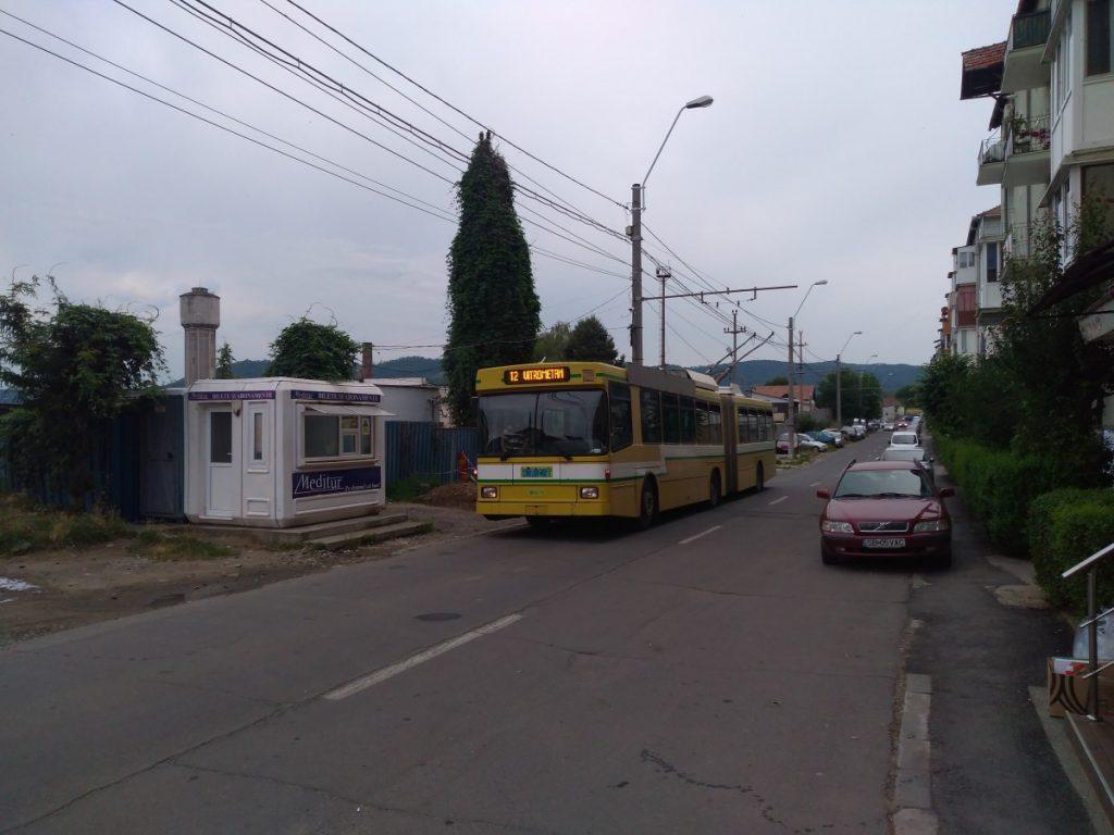 Na konečné zastávce Milcov ve čtvrti Vitrometan.