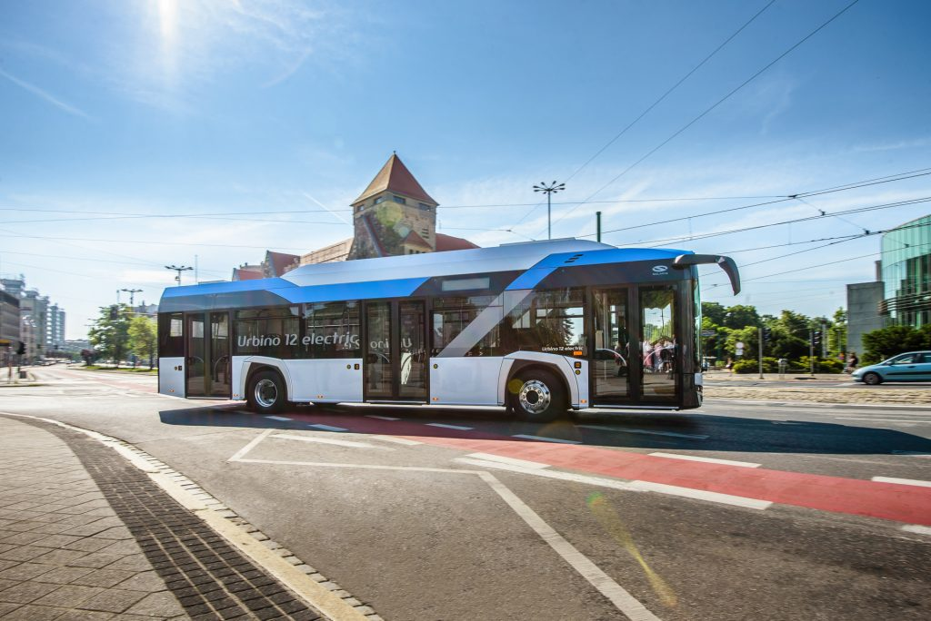 Autobus Solaris Urbino 12 electric. (foto: Solaris Bus & Coach)