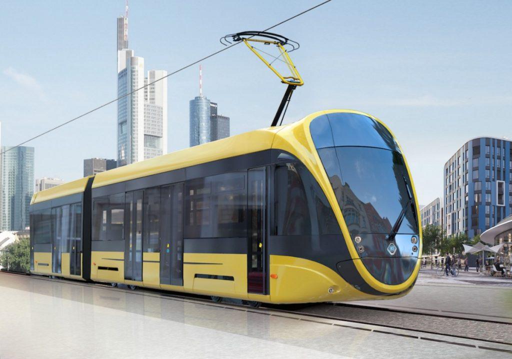 Pokud Tatra-Jug vyhraje, zřejmě dodá tento model nové tramvaje. (zdroj: Tatra-Jug)