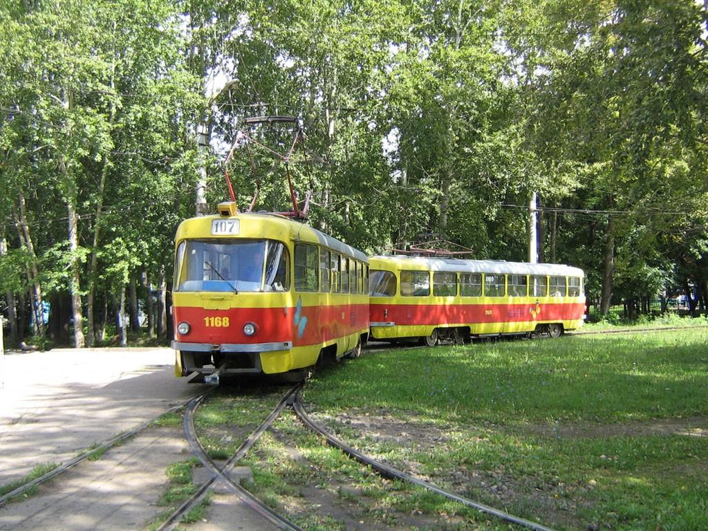 Na smyčce Park Pobědy na severu města. (foto: Anton Buslov/Wikipedia.org)