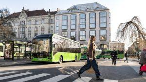 Elektrobusy do polské Lodže dodá Volvo