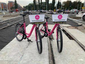 Přestup na náhradní cyklistickou dopravu