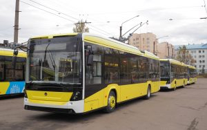 Skončily dodávky trolejbusů Elektron T191 do Lvova
