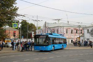 Moskva zprovoznila muzejní trolejbusovou linku