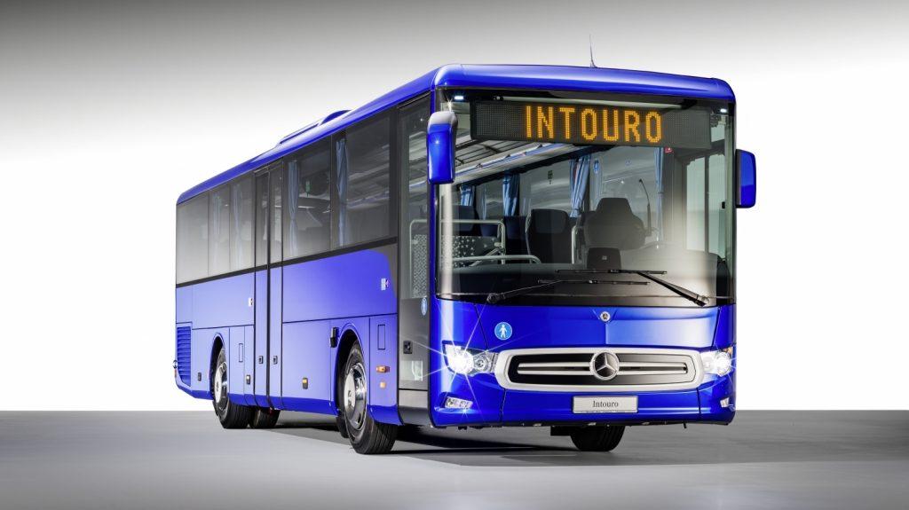 Provedení nového Intoura, o kterém vlastně nikdo nic neví. (foto: Daimler Buses)