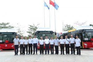 Kanton přivítal 81 nových parciálních trolejbusů