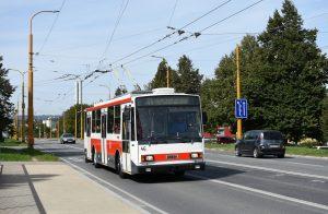 """Jihlavský """"historický"""" vůz Škoda 14 Tr"""