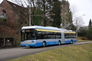 Solingen koupí 16 trolejbusů Trollino 12