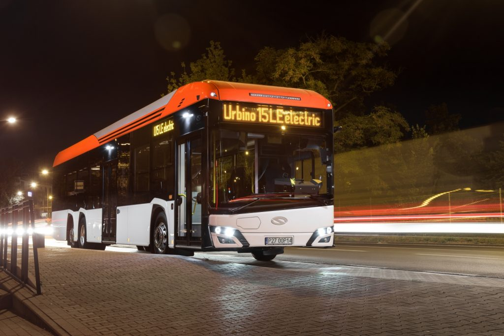 Novinka od Solarisu v podobě 15m Urbina LE. (foto: Solaris Bus & Coach)