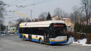 Ve švýcarském La Chaux-de-Fonds vyjel po 6 letech trolejbus