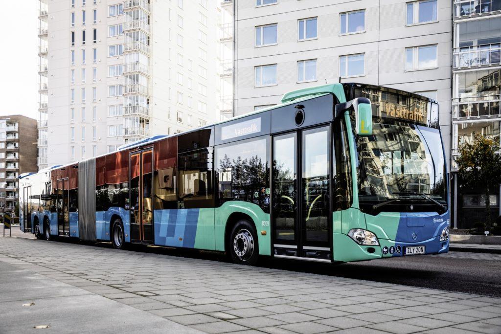 Autobus Mercedes-Benz CapaCity L pro Göteborg na fotografii výrobce. (foto: Daimler Buses)