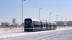 Alstom dokončil první fázi výstavby tramvaje v Lusail
