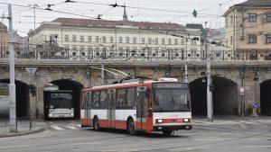 Trolejbusové stavebnice pro Brno