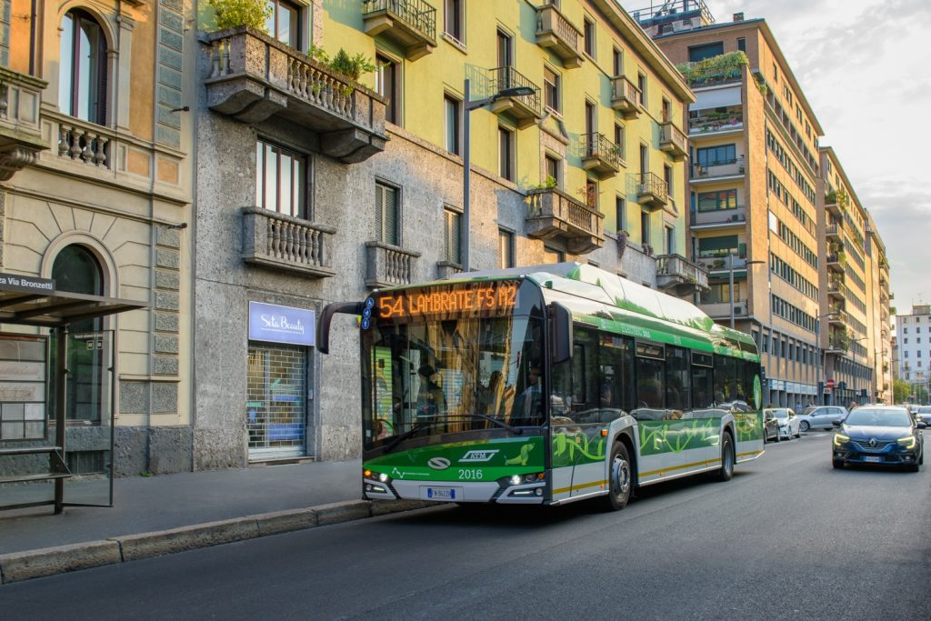 Urbino 12 electric pro Milán. (foto: Solaris Bus & Coach)